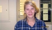 Christina Ferguson, 32, was arrested after she smeared peanut butter on 30 vehicles she thought were parked outside a Donald Trump rally in Amherst, Wisconsin. (Portage County Sheriff's Office)