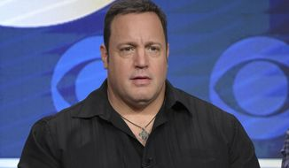 "FILE - In an Aug. 10, 2016 file photo, actor/executive producer Kevin James participates in the ""Kevin Can Wait"" panel during the CBS Television Critics Association summer press tour, in Beverly Hills, Calif. With ""Kevin Can Wait,"" Kevin James has come home to his native Long Island, New York, from where his new CBS sitcom originates.  (Photo by Richard Shotwell/Invision/AP, File)"