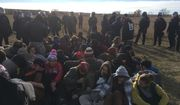 Protesters of the Dakota Access pipeline. Photo by the Morton County [N.D.] Sheriff's Department.