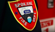 Spokane, Wash., Fire Department shoulder patch. Screen capture from the Spokane FD website.