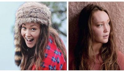 This pair of undated photos released by the Portland, Ore., Police Bureau shows Anna Schmidt, the daughter of one of the men in the Utah-based music group The Piano Guys, as they seek the public's help in locating her. Schmidt has been reported missing and may have gotten injured or lost on a hike in the Columbia River Gorge in Oregon, authorities say. She was last seen Sunday, Oct. 16, 2016, and was reported missing Wednesday, Portland police Sgt. Pete Simpson said. (Portland Police Bureau via AP)