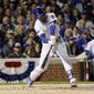 MVP caliber third baseman Kris Bryant and a bevy of young Chicago Cubs stars open the World Series Tuesday as a heavy favorite to win their first crown since 1908. (Associated Press)