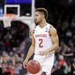 Maryland guard Melo Trimble returns for his junior season after withdrawing from the NBA draft. He rarely played fewer than 35 minutes a game last season. (Associated Press)