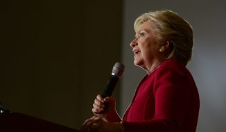 Democratic presidential candidate Hillary Clinton's boast that the election is hers to lose could damage her own prospects as well as those of other Democrats. (Associated Press)