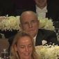 Mr. Giuliani's deadpan reaction to the Democratic presidential nominee's barb at the Alfred E. Smith dinner last week made news headlines. (NBC News)