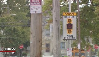 """Dozens of teens reportedly descended upon a Philadelphia school bus and assaulted students and the driver, just three days after a """"flash mob"""" randomly attacked students at nearby Temple University. (WTXF)"""