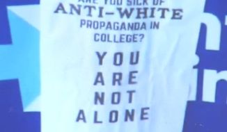 """The University of Iowa is investigating a series of fliers criticizing """"anti-white propaganda,"""" which were discovered near campus centers dedicated to Latino, Native American, African American and LGBTQ communities. (KCRG)"""