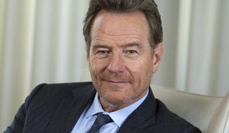 "In this Oct. 11, 2016 photo, actor Bryan Cranston poses for a portrait at The New York Edition hotel to promote his new memoir, ""A Life in Parts,"" in New York. (Photo by Amy Sussman/Invision/AP)"