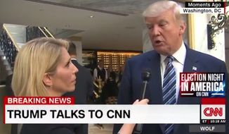 Republican presidential nominee Donald Trump got testy with CNN's Dana Bash on Wednesday after she questioned his campaign schedule. (CNN)