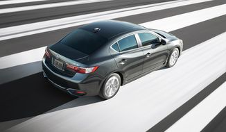 The 2017 Acura ILX is pretty much the same as this year's model since a nice invigoration was done in 2016 in order to up the ILX ante. (Photo courtesy of Acura)