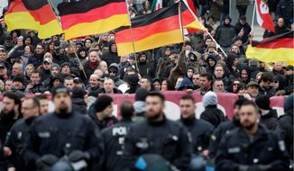 Protests have erupted in the past year as Germany takes in migrants. Resistance is particularly fierce in the poorer eastern parts of the country. (Associated Press)