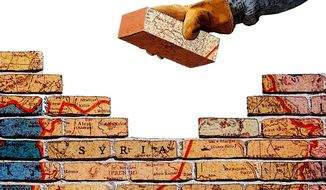 Building a Confederation in Syria Illustration by Greg Groesch/The Washington Times