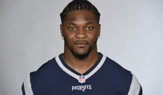FILE - This is a 2016 file photo showing Jamie Collins of the New England Patriots NFL football team. The Cleveland Browns have acquired linebacker Jamie Collins from New England, a person with knowledge of the trade tells The Associated Press. The person spoke on condition of anonymity Monday, Oct. 31, 2016,  because the deal has not officially been announced. Tuesday is the NFL's trade deadline. (AP Photo/File)