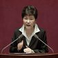 South Korean President Park Geun-hye reshuffled her Cabinet on Wednesday in what critics say is an attempt to divert public attention away from a snowballing corruption scandal involving a longtime friend, who is now in police custody. (Associated Press)
