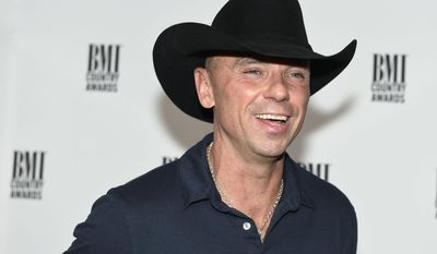 Kenny Chesney attends the 64th Annual BMI Country Awards at BMI on Tuesday, Nov. 1, 2016, in Nashville, Tenn. (Photo by Sanford Myers/Invision/AP)
