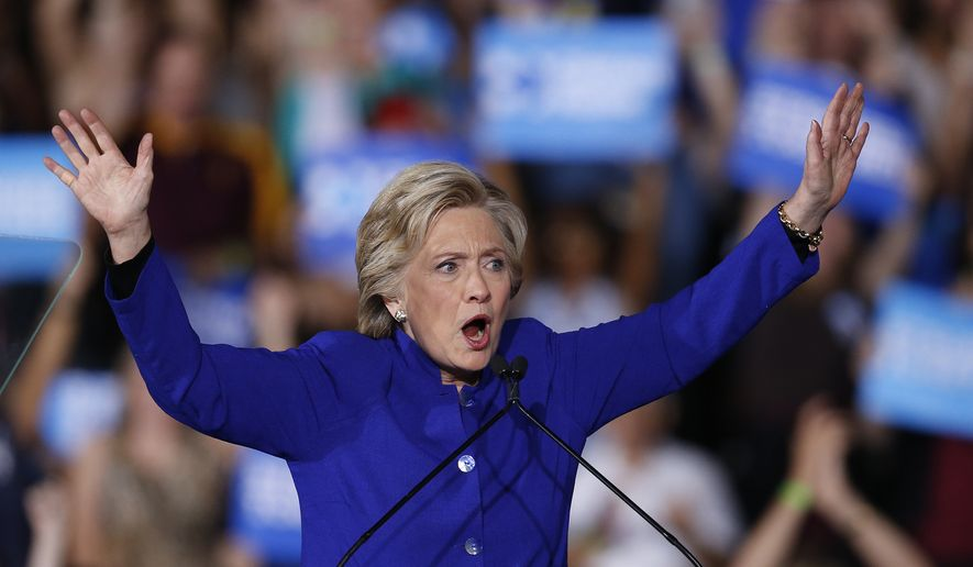 Hillary Clinton's emails were a popular rallying cry during Trump's bid for the White House. However, critics have accused the Trump administration of being sluggish to release Clinton's emails. There are multiple Freedom of Information Act lawsuits related to the case. Mrs. Clinton is pictured here at a campaign rally in Tempe, Arizona on Nov. 2, 2016. (Associated Press/File)
