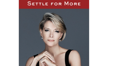 "Screen capture from Amazon.com of Megyn Kelly's forthcoming memoir ""Settle for More."" [https://www.amazon.com/Settle-More-Megyn-Kelly/dp/0062494600]"