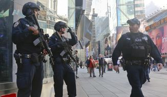 The FBI and New York Police Department say they are assessing the credibility of information they received of a possible al Qaeda terrorist attack against the U.S. on the eve of Election Day. (Associated Press)