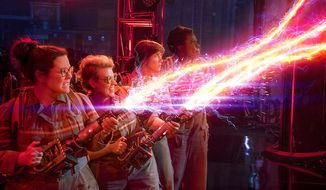 "The proton streams look stunning in ""Ghostbusters: Extended Edition,"" now available on 4K Ultra HD from Sony Pictures Home Entertainment."