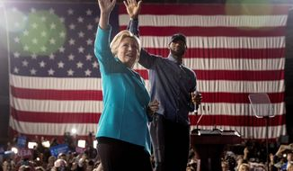 More of the same: In the campaign's final days, Democratic presidential candidate Hillary Clinton was joined at an Ohio rally by LeBron James of the Cleveland Cavaliers. Mrs. Clinton is seen by many as the ultimate political insider.