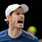 Andy Murray is expected to be ranked No. 1 in the world after he won the Paris Masters on Sunday, his eighth title this year. (Associated Press)
