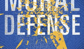 """This book cover image released by Thomas & Mercer shows, """"Moral Defense,"""" by Marcia Clark. (Thomas & Mercer via AP)"""