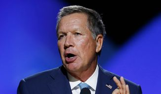 Ohio Gov. John Kasich's split with Donald Trump bolstered his image among some Republicans, but alienated grass-roots activists. (Associated Press)