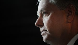 Sen Lindsey Graham, South Carolina Republican and onetime White House hopeful, kept his promise to not vote for Donald Trump by backing independent Evan McMullin. (Associated Press)