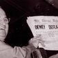 """U.S. President Harry S. Truman holds up an Election Day edition of the Chicago Daily Tribune, which mistakenly announced """"Dewey Defeats Truman"""" on Nov. 4, 1948.   Associated Press photo"""