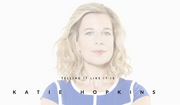 British columnist Katie Hopkins. Image from a screen capture at her official website.