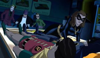 "Joker, Penguin, Riddler and Catwoman attempt to cook the Dynamic Duo in ""Batman: Return of the Caped Crusaders,"" now available on Blu-ray from Warner Bros. Home Entertainment."
