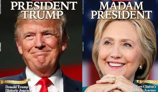 A special Newsweek issue declaring Hillary Clinton the 45th president is being recalled after it was prematurely shipped to retailers nationwide. (Newsweek)