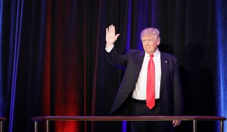 Republican Donald Trump started his presidential campaign in the summer of 2015 as a 100-1 long shot and remained a decided underdog right up to Election Day. (Associated Press)