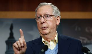 Senate Majority Leader Mitch McConnell of Ky. (AP Photo/Alex Brandon)