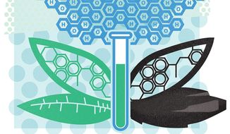 Illustration on the hopes for a more science-based EPA by Linas Garsys/The Washington Times