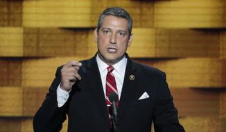 Rep. Tim Ryan, Ohio Democrat. (Associated Press) ** FILE **