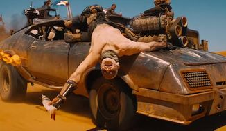 """Pentagon officials say the Islamic State group is now using """"Mad Max""""-style vehicles to wreak havoc on Iraq's population. (YouTube, Warner Bros. Mad Max: Fury Road trailer)"""