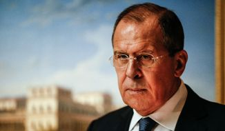 Sergey V. Lavrov, Minister of Foreign Affairs of the Russian Federation
