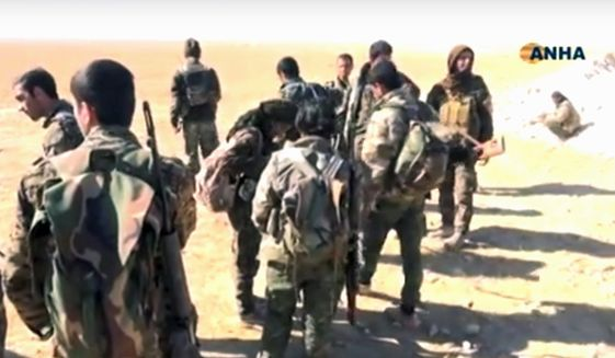 U.S.-backed fighters are moving toward Raqqa, Syria, for a crucial battle against the Islamic State group, but infighting is plaguing the coalition. (Associated Press)