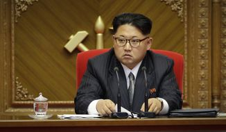 Analysts North Korean leader Kim Jong-un is poised to try to exploit the uncertainty around President-elect Donald Trump's transition process. (Associated Press)