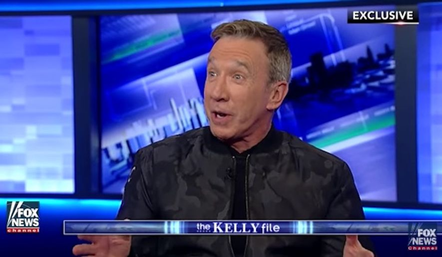 "Actor and comedian Tim Allen said Monday that Hollywood liberals are ""hypocritical"" for bullying people who support President-elect Donald Trump. (Fox News)"