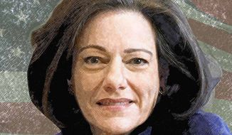 KT McFarland Illustration by Greg Groesch/The Washington Times