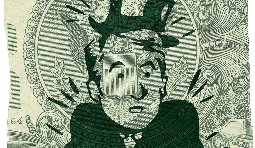 Illustration on the out of luck billionaires on the American Left by Linas Garsys/The Washington Times