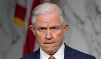 Sen. Jeff Sessions (Associated Press) ** FILE **