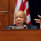 Rep. Elijah E. Cummings of Maryland, the top Democrat on the House Oversight and Government Reform Committee, sees potentially serious conflicts of interest between Donald Trump's political and business dealings. (Associated Press)