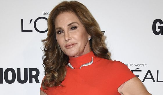 In this Nov. 14, 2016, file photo, Caitlyn Jenner arrives at the Glamour Women of the Year Awards in Los Angeles. On Jan. 10, Us Weekly reported Ms. Jenner had accepted an invitation to attend Donald Trump's presidential inauguration. (Photo by Jordan Strauss/Invision/AP, File) **FILE**