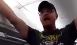 Delta Air Lines has banned a Donald Trump supporter for life after he disrupted a flight from Atlanta to Allentown, Pennsylvania, last week. (Emma Baum)