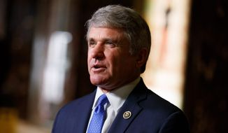Rep. Michael T. McCaul met Tuesday with President-elect Donald Trump in New York. (Associated Press)