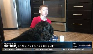 American Airlines has apologized to an Indiana family after they said they were kicked off a flight on Thanksgiving Day because of their disabled son's service dog. (KSDK)