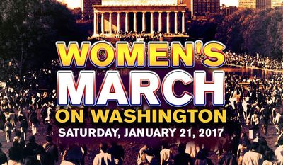The cover image for the Women's March on Washington's official Facebook page.